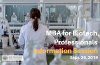 Biotech MBA Lunch n Learn - Sept. Bulletin