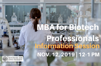 Biotech MBA Lunch n Learn -OCT. Bulletin